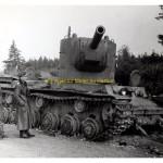 Russischer Panzer KV 2