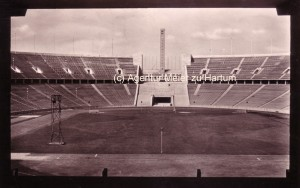 Stadion & Glockenturm 1936