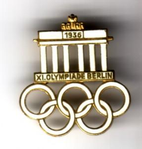 Olympia 1936 Besucherabzeichen