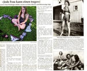 Magda Schneider 1944 am Wörthersee