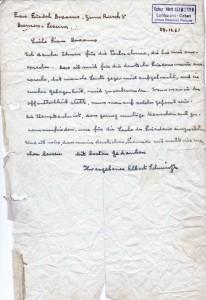 Albert_Schweitzer_Brief