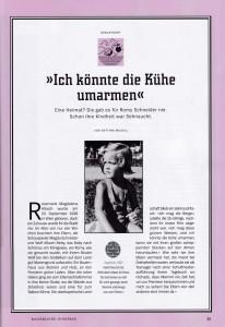 Spiegel Biografie RomySchneider 3/2018