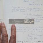 """Auszug aus dem Bordbuch der """"Carin II"""""""